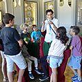 Visite hubert le gall au château borely