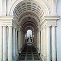 Rome baroque (15/20). La loggia du Palais Falconieri et le Palais Spada où règne l'illusion.