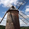 moulin de la couvertoirade et découverte du village
