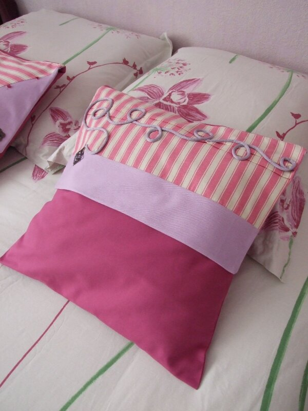 coussin chambre