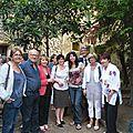 ATEK avec Michèle Guérin et les artistes en juin 2014