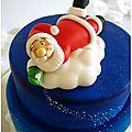 Père Noël sur son nuage