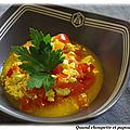 Tofu brouille