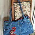 Nouveau sac en jean