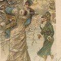 Une belle carte postale ancienne la première