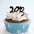 Nouvelle année et cupcakes :-)