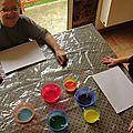 Test : la peinture qui gonfle au micro onde !