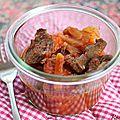 <b>Coeur</b> de <b>boeuf</b> carottes-tomates {recette}