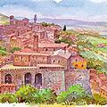 Entre Toscane du Sud et Ombrie (20/22). De la Renaissance…