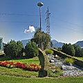 Rond-point à Liezen (Autriche)