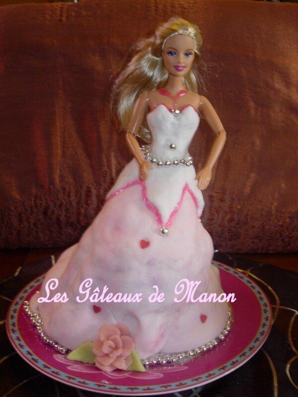 Gâteau 3D princesse