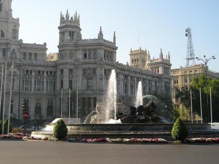 Madrid-Plaza de cibeles