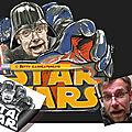 Star wars - caricature en dessin de dark vador - darth vader - cadeau départ retraite
