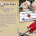 Les plumes d'ysaline recueil 1 : plume d'amour (ysaline fearfaol) : dédicace