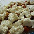 En vrac ii: fenouil mariné et gratin de pâtes.