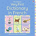 VERY FIRST <b>DICTIONARY</b> IN FRENCH