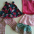Couture pour débutante vêtements de <b>poupée</b> <b>Corolle</b>: Trousseau d'été