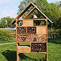 Hôtels pour insectes