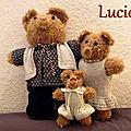 La famille ours de Lucie