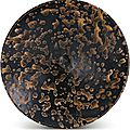 A 'Jizhou' '<b>tortoiseshell</b>'-<b>glazed</b> <b>bowl</b>, Song dynasty (960-1279)