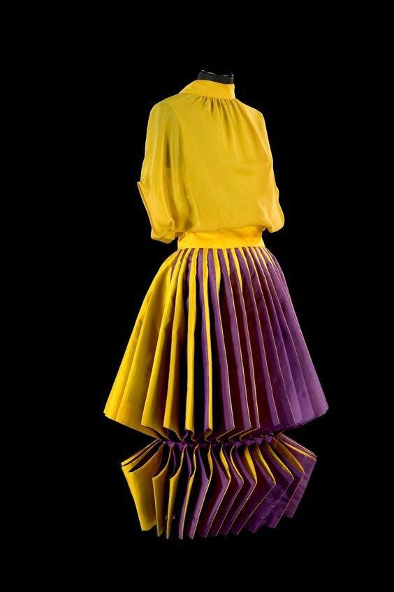 Roberto Capucci, Sculpture Dress, silk taffeta and silk georgette, 1980
