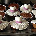 cupcakes danseuses