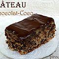 Gâteau moelleux au chocolat et à la noix de coco sans farine ni gluten pour pessah