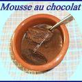 Mousse au chocolat inratable !