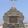 Monumental Cross facing the Sea, Tranquebar