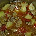 Massalé porc patates