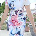 La robe qui fait tâche ! # défi burda nº8