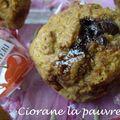 Muffins aux mon chéri