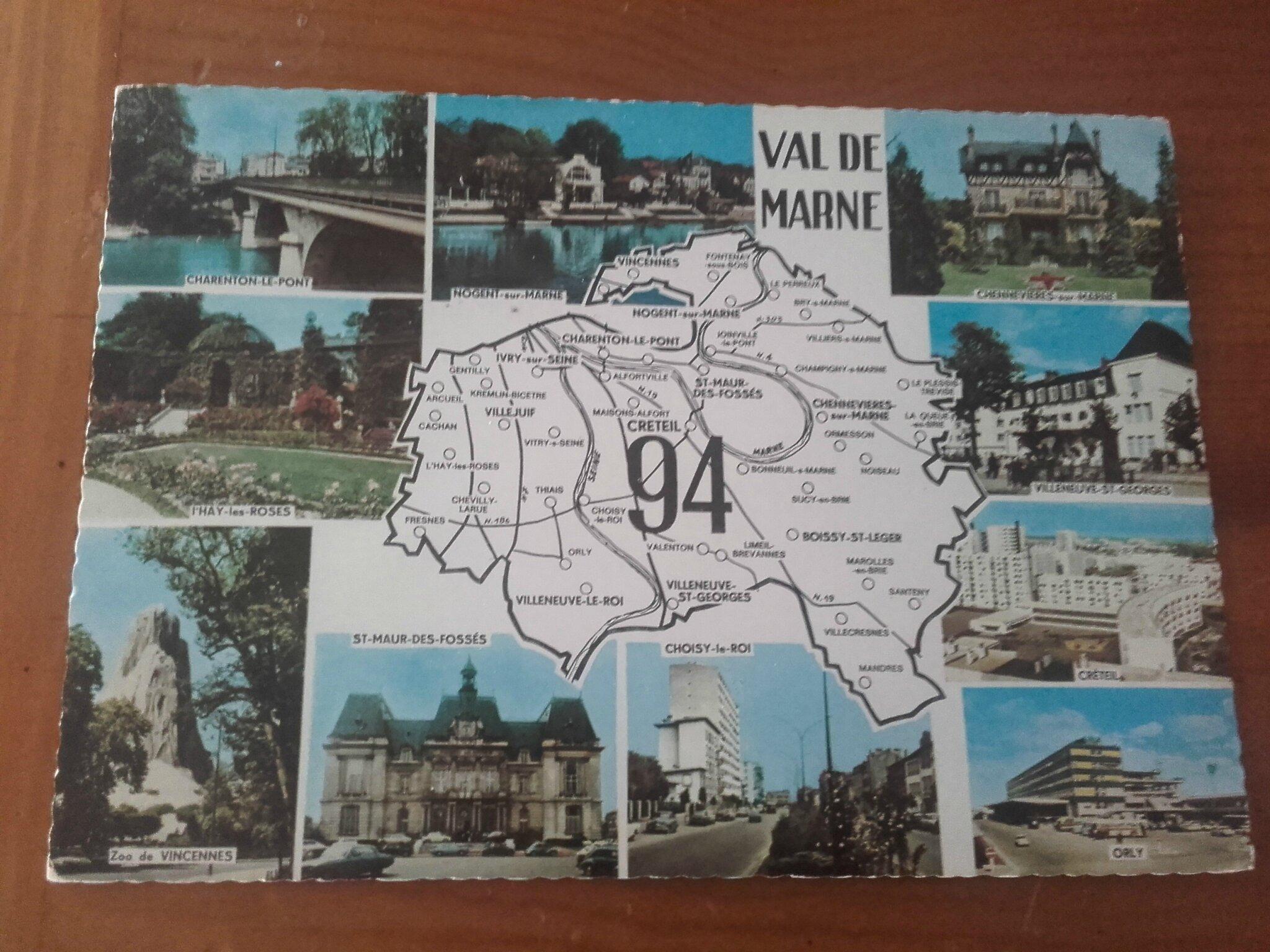 0 VAL DE MARNE datée 1967