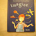 Imagine. Hubert Ben Kemoun. <b>Père</b> <b>castor</b> Flammarion