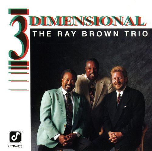 Ray Brown Trio - 1991 - 3 Dimensional (Concord Jazz)
