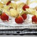 Quelques physalis caramélisés pour décorer vos desserts.....Comment sublimer des