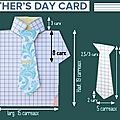 Father's Day Card - reproduction