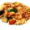 Coquillettes façon wok