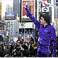 Dédicace de l'album Invincible à New York