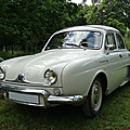 RENAULT <b>Dauphine</b> découvrable 1961