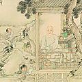 L'Ecole de Shanghai (1840-1920), Peintures et calligraphies du musée de Shanghai au musée Cernuschi