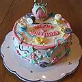 Mon gâteau d'anniversaire ^-^