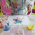 Peinture à la ficelle