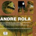 Exposição de Alexandre Rola na Galeria do Palácio das Artes - Fábrica de Talentos