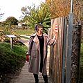 A l'automne frissonnant .... un manteau douillet ...