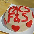 <b>Gâteau</b> du PACS à l'amande