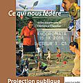 Projection publique du documentaire