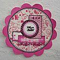 Carte Bac Léana Juillet 2012 Atelier à Scrap