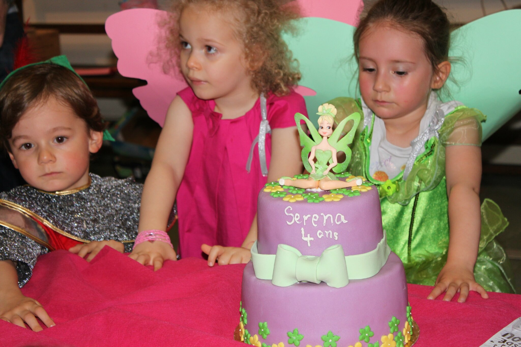 Anniversaire de Serena 4 ans