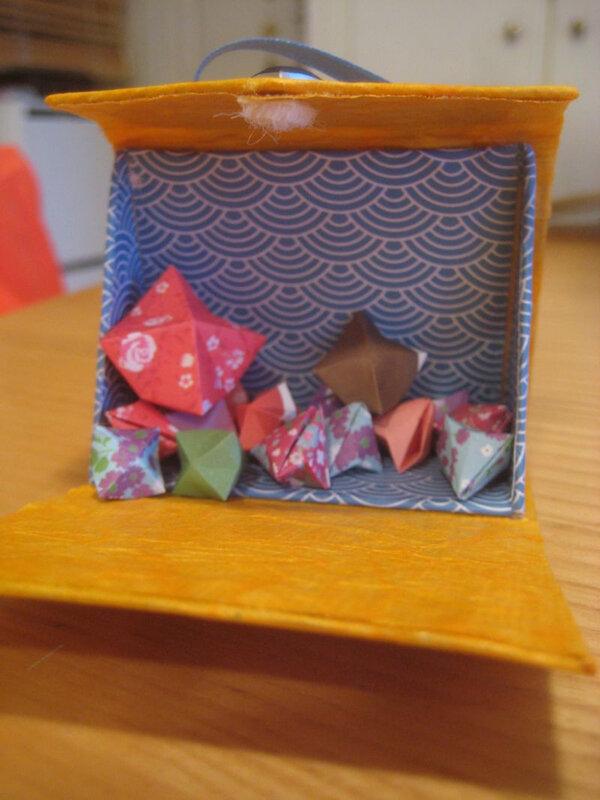diamants dans boite
